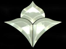 STAINED GLASS SUPPLIES BEVELS...STYLIZED FLOWER 2