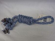 Jouets bleus en corde pour chien