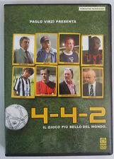 4 - 4 - 2  il gioco più bello del mondo   DVD   noleggio sigillato   Paolo Virzì