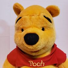 Disney Winnie the Pooh 20 Inches Stuffed Bear Plush Toy by Mattel Arcotoys Euc