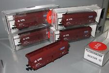 Fleischmann N 852326 VTG RAG 5x Großraum-Selbstentladewagen Falns,  Ep IV _N280