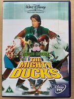 D2 The Mighty Ducks 2 DVD Walt Disney Ice Hockey Family Comedy w/ Emilio Estevez