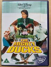 D2 die Mighty Ducks 2 DVD Walt Disney Ice Hockey Family Comedy W / Emilio