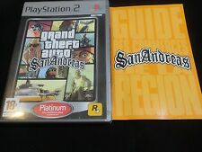 PS2 PS3 GRAND THEFT AUTO SAN ANDREAS PLAYSTATION 2 GTA SAN ANDREAS PS2