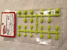 KYOSHO INFERNO MP9 TKI3, NEW IN PACKET SUSPENSION BUSH SET, FLUO YELLOW, IF442KY