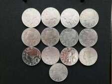 Österreichs 10 Silber Schilling Münzen Sammlung  mit 13 Münzen von 1957 - 1973