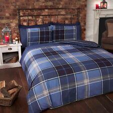 Rapport Argyle King Size Bed Set - Blue