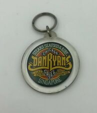 DAN RYAN'S CHICAGO GRILL  VINTAGE PLASTIC KEY CHAIN  Singapore