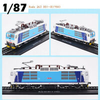 Locomotive 1:87 Retro Train Model Rada 263 001-0 (1984)Collection Decoration