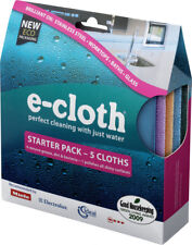 e Cloth Starter Cleaning Pack 5 Cloths -  Stainless Steel Baths Glass Worktops