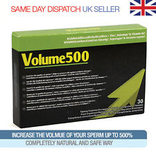 Volume500 Sperm Enhancement Pills - Stronger Semen - Great Results