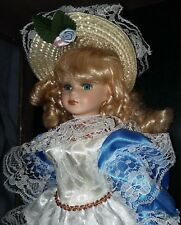 SOFIA Ashley Belle doll in case with Authenticity Certificate Vg free shp & insr