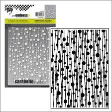 Beads embossing folder Carabelle embossing folders Guirlandes AE60012