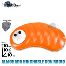 ALMOHADA CON RADIO ALMOHADAS CON RADIO ALMOHADA HINCHABLE RADIO PLAYA PISCINA
