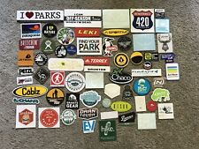 63 Hike Outdoor Stickers/ Decal Patagonia MSR Chaco Kelty Leki Mystery Ranch