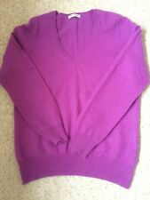 Ladies Marks And Spencer Autograph Cashmere Jumper Size 16