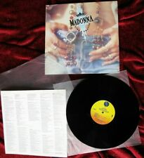 Madonna LIKE A PRAYER Original 1989 Sire KOREA Vinyl LP Record & Promo Insert