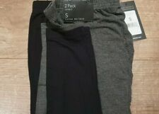 NEW MATERNITY x2 LEGGINGS BLACK AND GREY NEW LOOK SIZE SMALL