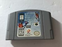 Nagano Winter Olympics '98 Nintendo 64 N64 Cartridge Cleaned & Tested Konami