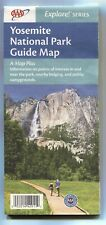 Old AAA Map Guide YOSEMITE National Park California 2009-2014 Explore Series
