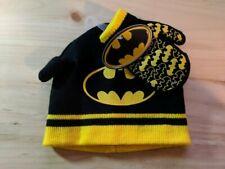 New Batman Infant Winter Hat & Mittens Set