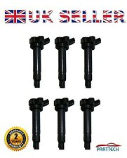 x6 LEXUS IS200 IS300 GS430 LS430 SC430 PENCIL IGNITION COIL PACK - BRAND NEW