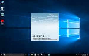 Waters Empower 3 FR2, SR2  loaded on Dell i5 Windows 10 pro Computer