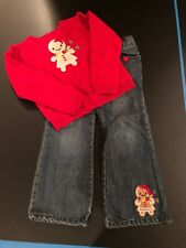 Crazy 8 Gingerbread Outfit Size 5