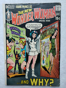 Wonder Woman #191 (Dec 1970, DC) [VG 4.0]