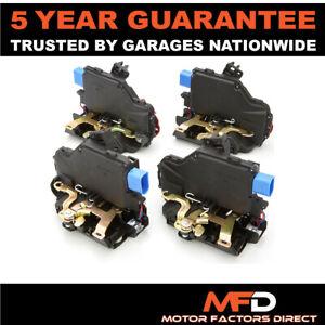 4x For Porsche Seat Skoda VW Front + Rear Door Lock Actuator Solenoid Locking