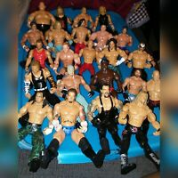 Wwe wrestling action figures & more lot