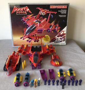 Vintage Manta Force Red Venom Bluebird 1987 Toy Boxed