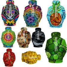 New Fashion 3D Print Graphic Men Women Funny Sweatshirt Hoodie Pullover Tops
