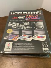 Hammermill Ultra Jet Print Paper 8.5 X11 Lot Of 5 100 Sheet Packages Premium New