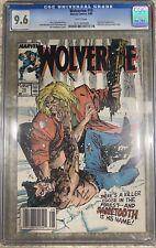 Wolverine #10 CGC 9.6 HIGH GRADE Marvel Comic KEY Sabretooth App & Fight
