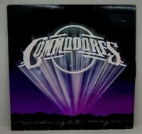 Commodores Midnight Magic Vinyl Record 1979 Motown Album, VG+/VG+ R-0005