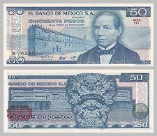 México/México 50 pesos 1981 p73 serie HT unz.