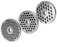 Jeu de Disques Perforés pour Hache-Viande Tailles 8 / 3mm+4,5mm+6mm