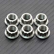 6x Titanium Rear Sprocket Nuts Ducati Multistrada 1200