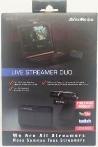 AVerMedia - Live Streamer DUO Webcam Bundle