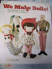 WE MAKE DOLLS~Jenny Doh~large variety of awesome doll patterns~techniques+++
