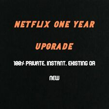Netflix Premium UHD Upgrade| 💻4 Screens | 🔒 Private Account | 1 Year Warranty