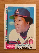 1982 Rod Carew OPC O Pee Chee Baseball Card #36 Angels Minnesota Twins HO er