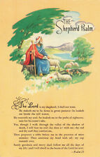 Postcard Psalm 23 The Sheperd Psalm