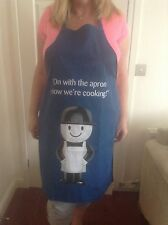 HOMEPRIDE FRED THE FLOUR MAN APRON AND A FRED THE FLOURMAN T TOWEL