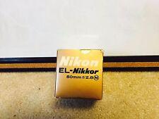 Nikon EL-Nikkor 50mm f/2.8 Camera Lens with case