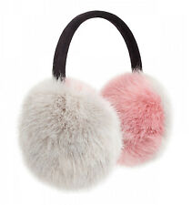 Pia Rossini Lola Ear Muff - Pink & Ivoy