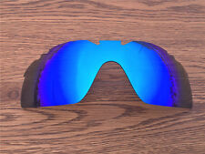 Inew ice blue mirred  polarized  Replacement Lenses for Oakley Radarlock XL