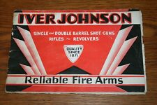 1931 Iver Johnson Reliable Fire Arms Sales Brochure