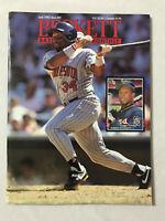 BECKETT BASEBALL CARD MONTHLY JUNE 1992 KIRBY PUCKETT MINNESOTA TWINS